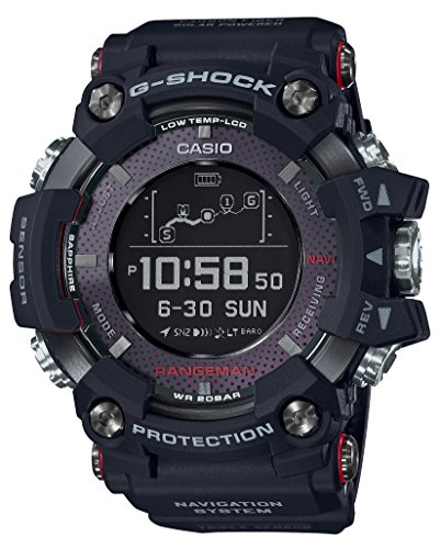 Casio G-SHOCK RANGEMAN Solar-Assisted GPS Navigation...
