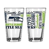 Boelter Spirit Pint Glass NFL Team: Seattle Seahawks