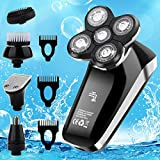 Vifycim Electric Shavers for Men, Mens Electric Razor,5 in 1 Head...