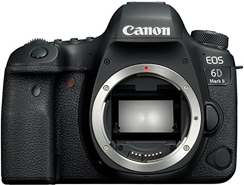 Canon Europa EOS 6D Mark II Body Fotocamera Digitale Reflex, Full Frame, 27,1 megapixel, Nero