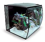 FLUVAL Aquarium Flex LED sans Meuble Bas pour Aquariophilie Noir...