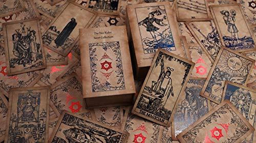 Tarot Cards,Holographic Tarot Deck with Guidebook,78 Tarot...