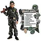 Child Boy Army Special Forces Costume (Large(10-12 yr))