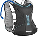 CamelBak Women's Chase Bike Hydration Vest 50 oz, Charcoal/Lake Blue
