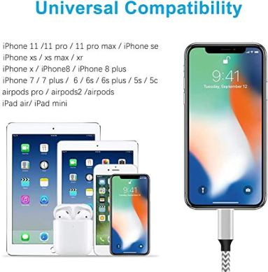 iPhone-Charger-5Pack-Ullmakit-Mfi-Certified-Lightning-Cable-Fast-Charging-Nylon-Braided-Phone-Charger-Cord-Compatible-with-iPhone-12-Pro-Max-11-Pro-Xr-Xs-Max-10-8-Plus-7-6-6s-5cSE-2020iPad