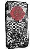 Apple iPhone X/XS ケース 対応 きれい バラ花 押し花 |アイフォンX/XS| カバー iPhone10/10S ……