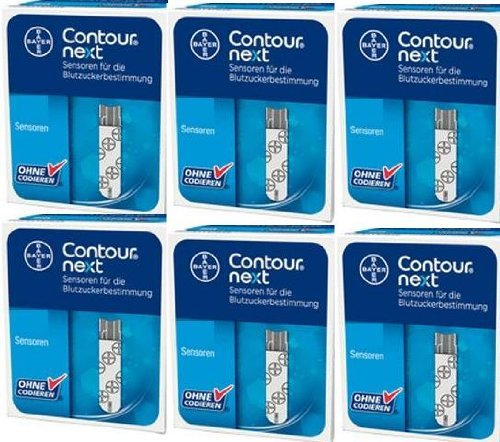Bayer Contour Next Test Strip 50 Strips (Pack of 12 Boxes)