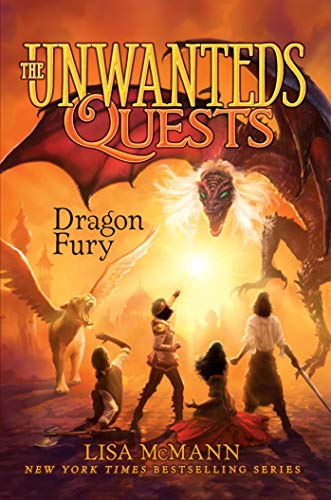 Dragon Fury (The Unwanteds Quests Book 7) by [Lisa McMann]