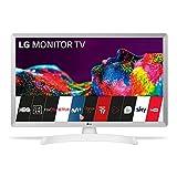 LG 28TN515S- WZ - Monitor Smart TV de 70 cm (28') con Pantalla LED HD (1366 x 768, 16:9,...