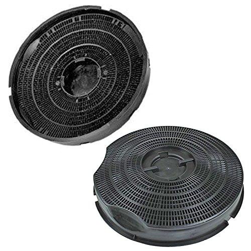 Genuino SMEG KSEG50 Type 30 carbonella carbonio cappa aspirante Vent Filter (Pack 2 Filtri 240 mm x 46 mm)