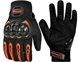 MOSFiATA Neutral Full-Finger Touch Screen Motorcycle Gloves for BMX ATV Mountain Bikes Road Racing Bicycles Rock Climbing Cross-Country Motorcycles etc