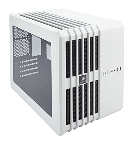 CORSAIR Carbide AIR 240 Micro-ATX and Mini-ITX Case, High-Airflow - White