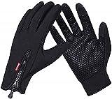 COTOP Guantes de Invierno , guantes de pantalla táctil a prueba de viento al aire libre para...