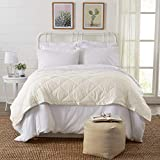 Home Fashion Designs Romana Collection Luxury Goose Down Alternative Quilted Blanket Brand (King, Ivory)