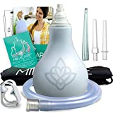 Enema Bulb Kit - Extra Large 10oz Anal Douche for Men and Women - Portable - BPA and Phthalates Free - by Mikacare