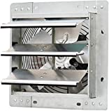 iLiving ILG8SF10V - 10' Wall Mounted Exhaust Fan - Automatic Shutter - Variable Speed - Vent Fan For...