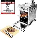 LoneStar StarBurner Edelstahl Beef Grill,...