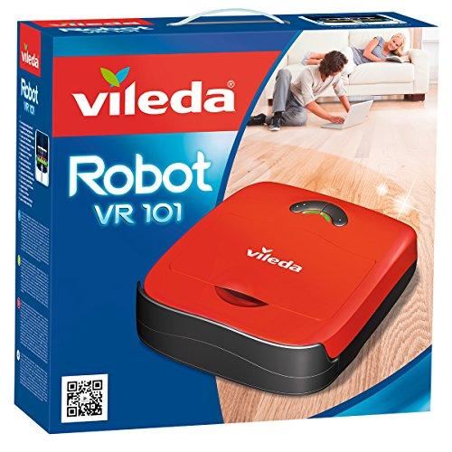 Vileda VR 101 Aspirapolvere, 19 W, 65 Decibel, Plastica, Rosso