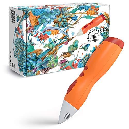 MYNT3D MP030-OG Junior 3D Pen for Kids,...