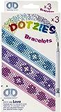 Diamond Dotz DDZDTZ-11.006 Dotzies Bracelets Kit Love 3pc