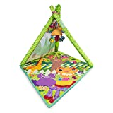 LAMAZE - 4-in-1 Play Gym, An Open Mesh Play Tent and Tunnel for Baby to Lay, Sit, Crawl and Explore, with Multiple Positions, Detachable Toys and a Mirror, 0 Months and Older