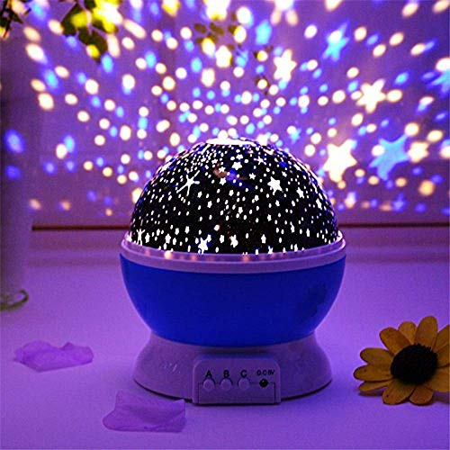 RAVIRANDAL Star Master Projector with 360 Degree Rotating 4 Mode Sky Night Lamp Kids Best Birthday Gift for Girls/Boys 2-8 Year Old Night Bulb