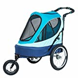 PETIQUE All Terrain Jogger-Sailboat Pet Stroller, Sailboat, One Size