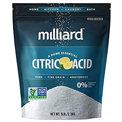 The fine granular NON-GMO citric acid is a kitchen essential used in preserving, flavoring, and cleaning completely; preserves the Vitamin C content of a food product. Certified Gluten Free. Adds an acidic or sour taste to meat, candy, soft drinks, a...