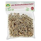 LENA 32005 Kit de Bricolage en Bois avec 300 Perles en Forme de...