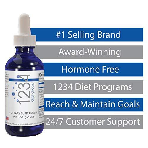 Creative Bioscience 1234 Diet Drops for Women & Men, Diet Drops for Weight Management, Keto Diet Drops, 2 Fl Oz (12 Pack) 6