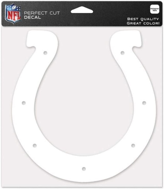 """Amazon.com : Wincraft NFL Indianapolis Colts 23""""x23"""" White Decal"""