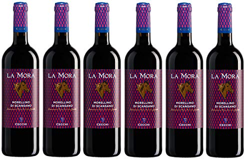 - 6 Bottiglie - Morellino di Scansano DOCG 750ml Cecchi La Mora
