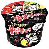 Sabor picante de pollo lamen samyang tazón grande - importado de corea