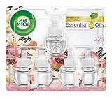 Air Wick plug in Scented Oil 5 Refills, Vanilla & Pink Papaya, (5x0.67oz), Essential Oils, Air Freshener