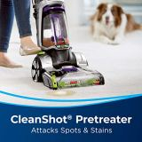 """Bissell ProHeat 2X Revolution Max Clean Pet Pro Full-Size Carpet Cleaner, 1986, with Antibacterial Formula and Bonus 3"""" Tough Stain Tool"""