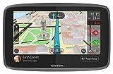 TomTom GPS Voiture GO 6200 - 6 Pouces, Cartographie Monde, Trafic, Zones de Danger via Carte SIM Incluse, Appel Mains-Libres