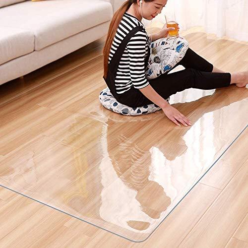 Tovaglia in Vetro Morbido Trasparente Opaco PVC Impermeabile e Resistente all'olio Tovaglietta in...
