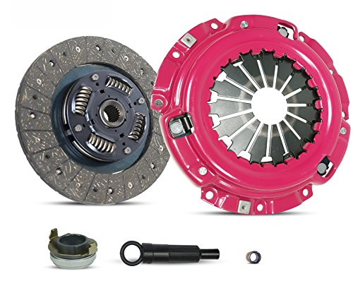 Clutch Kit Compatible With Escape Escort Tribute Tracer Limited XLS XLT DX ZX2 SE LS GS Trio Deportivo Equi Mid Sport 1997-2004 2.0L l4 GAS DOHC Naturally Aspirated (Stage 1; 07-138R)