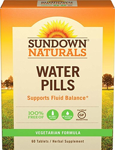 Sundown NaturalsNatural Herbal Water Pills, 60 Tablets (Pack of 3) by Sundown Naturals