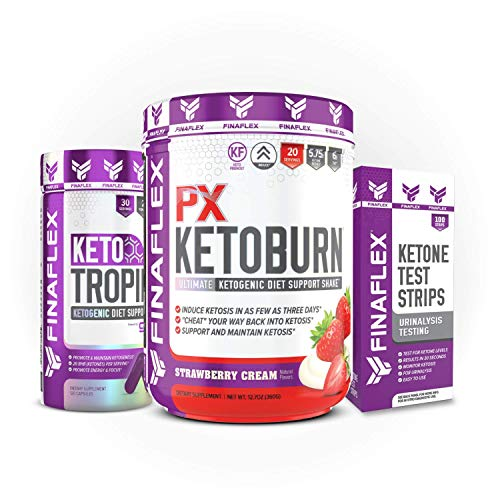 Keto Starter Kit, 7 Day System, Get Into Ketosis and Start Burning Fat in 3 Days, Strips, BHB, Everything You Need to Lose Weight (Strawberry) 1