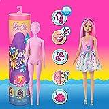 Barbie- Color Reveal Assortimento a Sorpresa, Vestito e Acconciatura, Giocattolo per Bambini 3+ Anni, GMT49