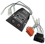 AERZETIX: Adaptateur Faisceau câble ISO RCA pour ampli amplifacteur autoradio C16578