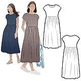 Style Arc Patrn de costura  Montana Midi vestido (tallas 18-30)  Clic para otros tamaos disponibles