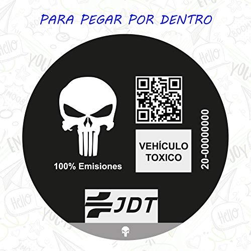 CUAC REVOLUTION Vinilo Adhesivo Pegatina Sticker Distintivo