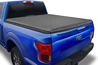 Tyger Auto T1 Soft Roll Up Truck Bed Tonneau Cover Compatible with 2015-2021 Ford F-150 |..