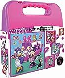 Educa- Disney Mickey Top Départ Malette Puzzles Progressifs Minnie & The...