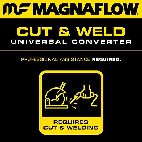 MagnaFlow 445006 Universal Catalytic Converter (CARB Compliant)