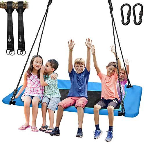 Trekassy 700lb Giant 60' Platform Tree Swing for Kids and Adults...