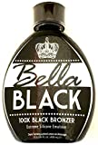 Bella Black 100x Bronzing Tanning Bed Lotion 13.5 oz -Safe for use on All Tanning Beds & Skin types