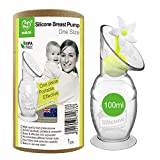 Haakaa Manual Breast Pump with Suction Bottom and White Stopper (4oz/100ml)